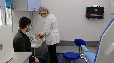 Сегодня до 20:00 будет проходить бесплатная вакцинация от COVID-19