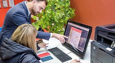 Помощь консультанта при подаче документов через портал РПГУ